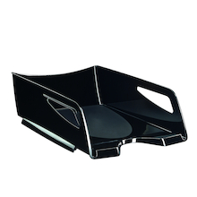 Large Black Letter Tray  medium