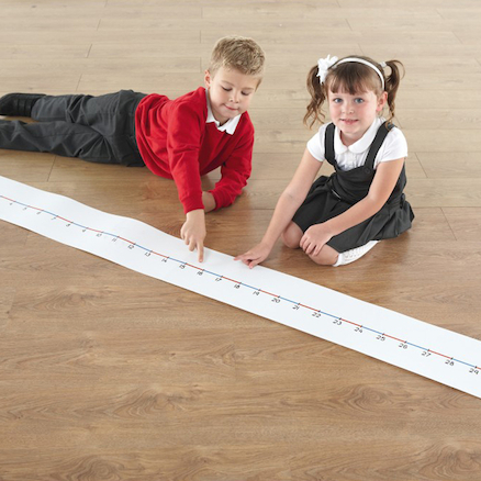 Dry Wipe 0\-30 Wall Number Line L200cm  large