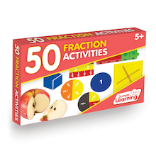 50 Fraction Activities  medium