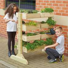 Individual Wooden Planter Sets  medium