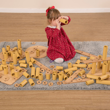 Eco Loose Parts Construction Set  medium
