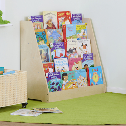 Single Sided Bookstand with Five Shelves  large