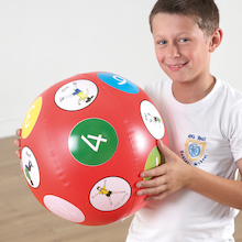 Action Beach Ball Talk Ball  medium