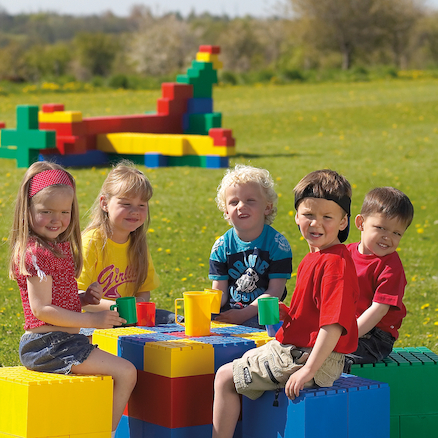 Jumbo Building Blocks  large