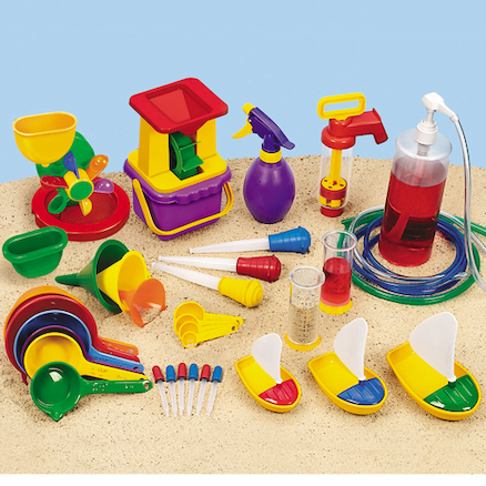Plastic Water Play Kit 36pcs  large