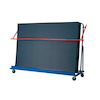 Inclined Gym Mat Trolley  small