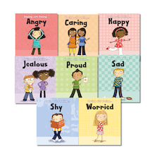 Dealing With Feelings Book Pack KS1 8pk  medium