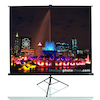 Pull Up Tripod Projector Screen 4:3  small