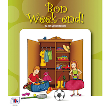 Bon Weekend French Story Book  medium