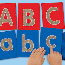 Tactile Alphabet Lowercase Letters  medium