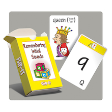 Flip-It Remembering Initial Sounds Activity Cards  medium
