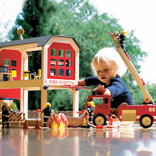 Small World Fire Station and Accessories Offer  medium