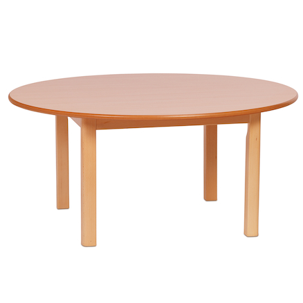 Circular Wooden Table  large
