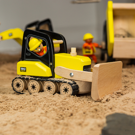 Small World Wooden Construction Site Multibuy  large