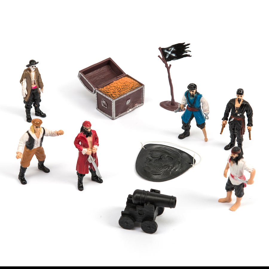 buy pirate small world figures and accessories 10pcs tts. Black Bedroom Furniture Sets. Home Design Ideas