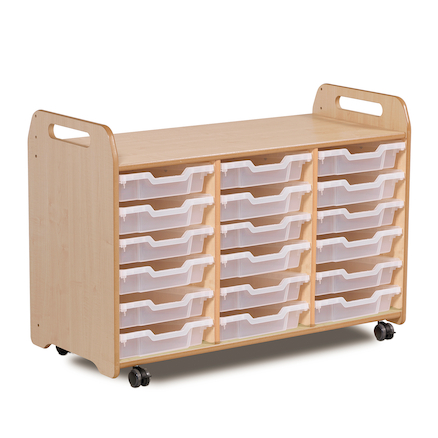 Millhouse Three Column Tray Storage  large
