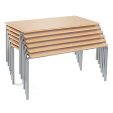 Rectangular Crush Bent Tables  medium