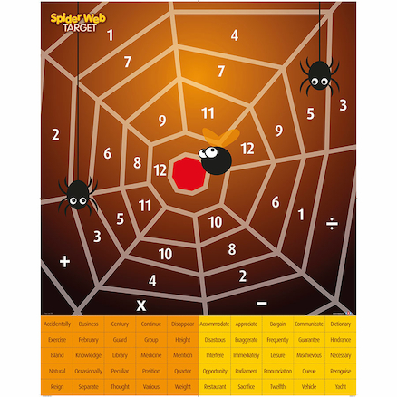 Spiders Web Target Game Mat 100cm  large
