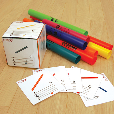 Boomwhacker Cards and Foam Dice  large