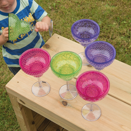 Plastic Messy Play Potions Goblet  large