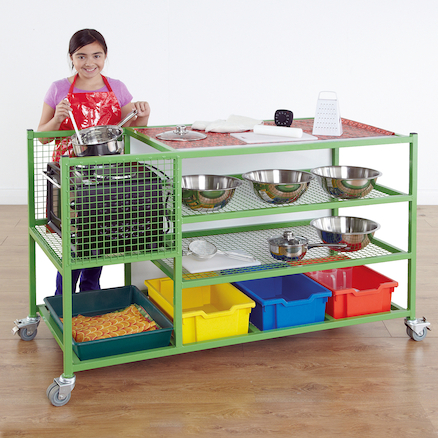 Cooking Storage Trolley  large
