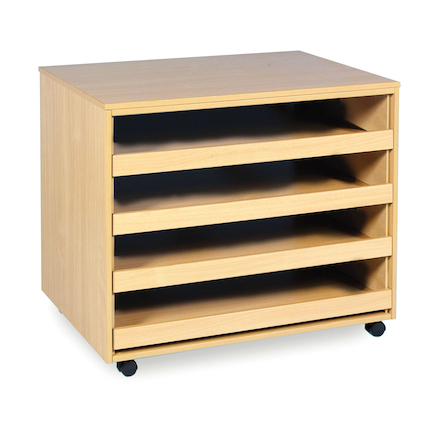 Sliding Drawer A1 Paper Storage  large