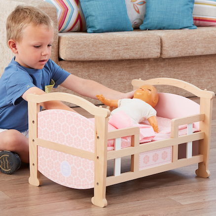 Role Play Doll\'s Rocking Cradle  large