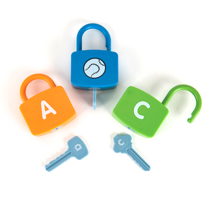 Learning Locks Padlock and Keys Matching  large