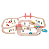 Small World Wooden Road and Rail Set 80pcs  small