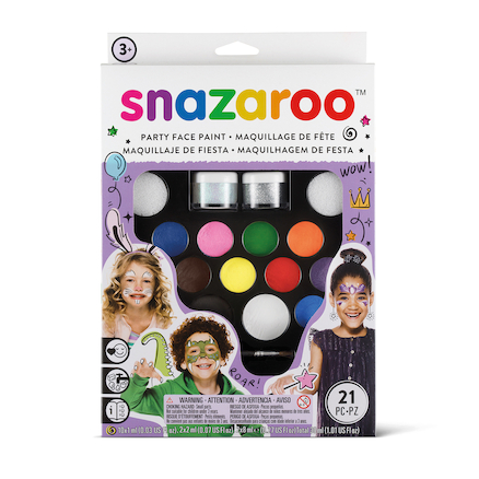 Snazaroo Ultimate Party Pack Face Painting Kit  large
