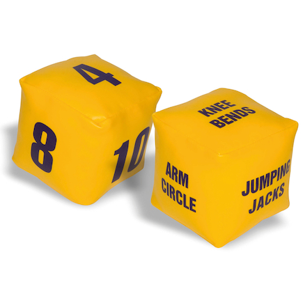 Fitness Dice Game 2pk  large