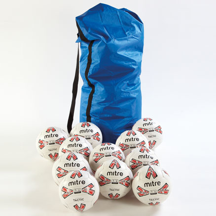 Mitre Tactic Footballs 12pk  large