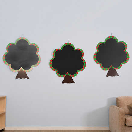 Chalkboard Tree Set 3pk  large