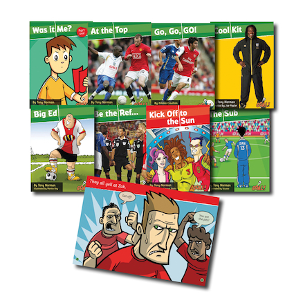 Goal Football Reading Series Books  large