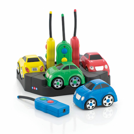 Rechargeable Remote Control Cars 4pk  large