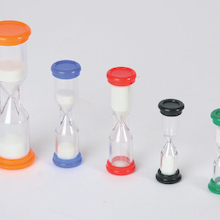 Multi Size Desktop Sand Timers  medium