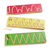 Pre Writing Tracing Patterns Wooden Stencils 3pk  small