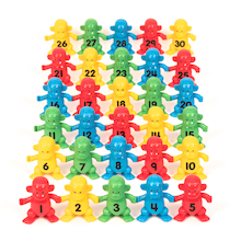 Linking Monkeys Numbers 1-30  medium