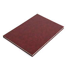 140gsm Hardback Sketchbook A3 Burgundy  medium