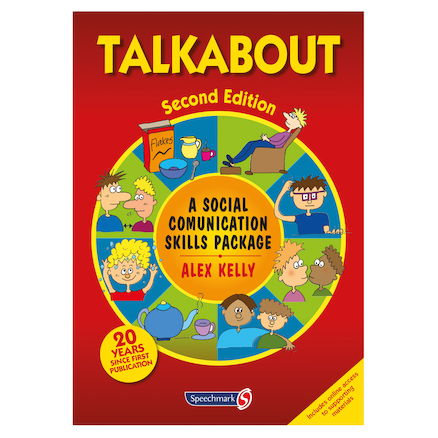 Talkabout Social Communication Activity Book  large