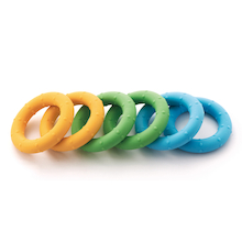 Soft Touch Fine Motor Squeezy Rings  medium