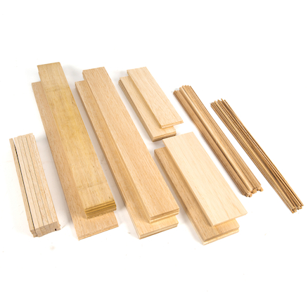 Assorted Balsa Wood 120pk  large