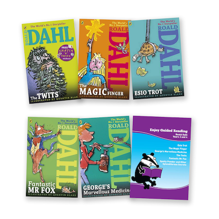 KS2 Guided Reading Roald Dahl  large