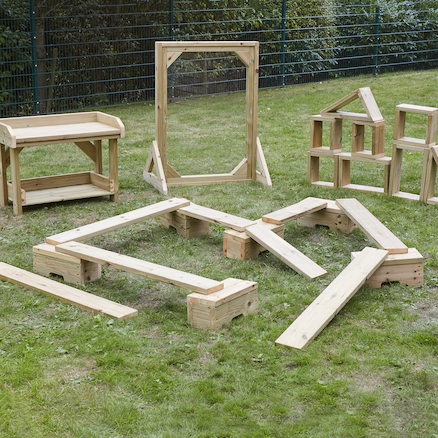 Outdoor Wooden Play Collection  large