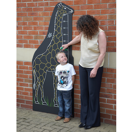 Giraffe Chalkboard Height Chart W80 x H180cm  large