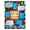 Online Safety Golden Rules Sign and Poster  small