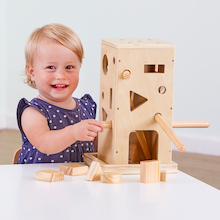 Wooden Posting Activity Tower  medium