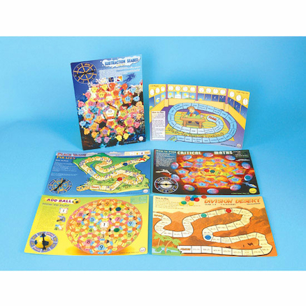 Yr 3\-4 Maths Board Game Pack 1  large