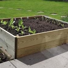 2 Tier Rectangular Raised Bed  medium