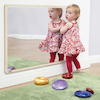 Wooden Framed Toddler Mirror 106 x 66cm  small